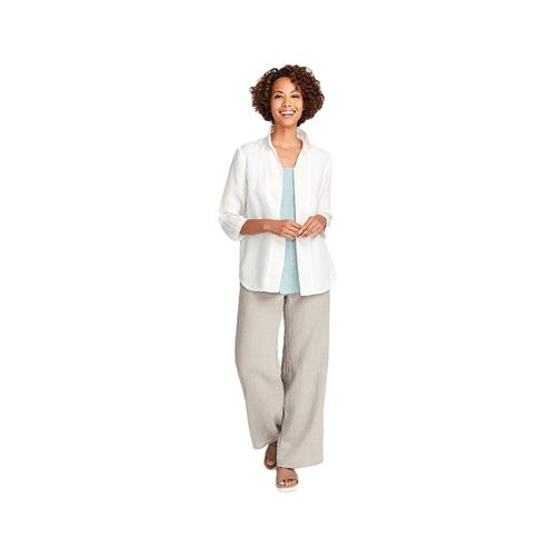FLAX Women's In-Line Blouse
