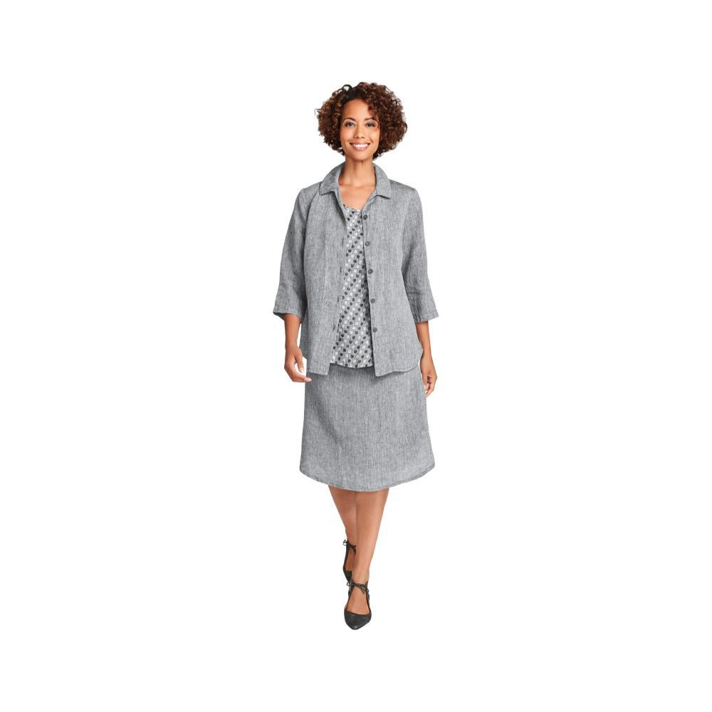 FLAX Women's In-Line Blouse COAL