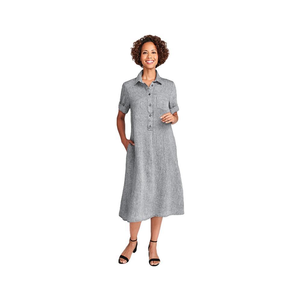 FLAX Women's Modernist Dress COAL