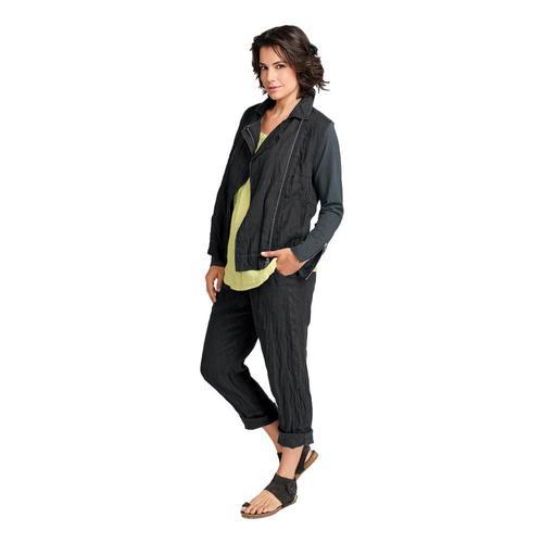 FLAX Women's Cut Above Pants Fadedblk