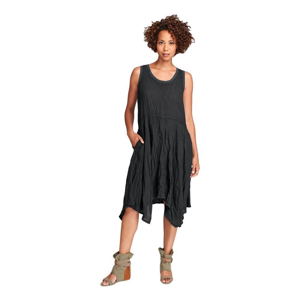 FLAX Women's Edgy Dress FADEDBLK
