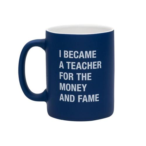 About Face Money And The Fame Mug