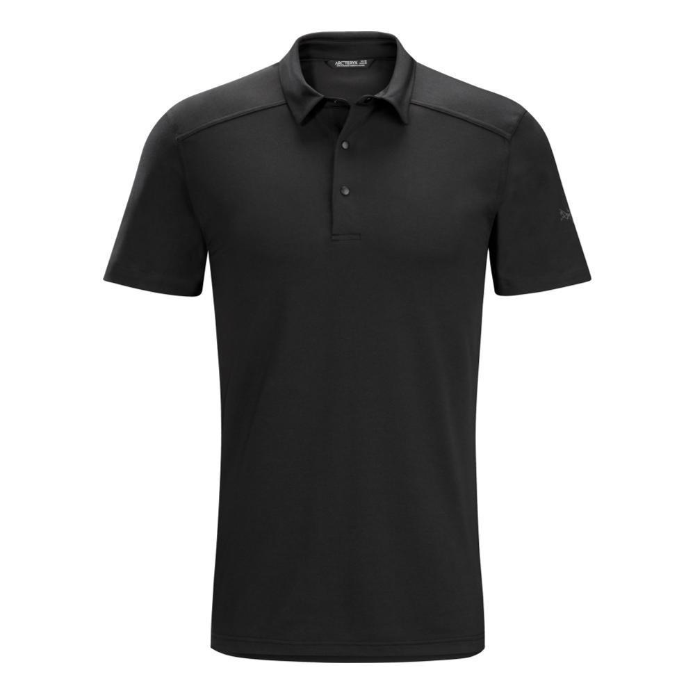 Arc'teryx Men's Chilco Short Sleeve Polo Shirt BLACK