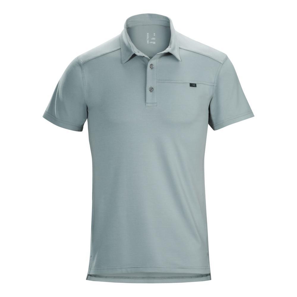 Arc'teryx Men's Captive Short Sleeve Polo Shirt PEGASUS