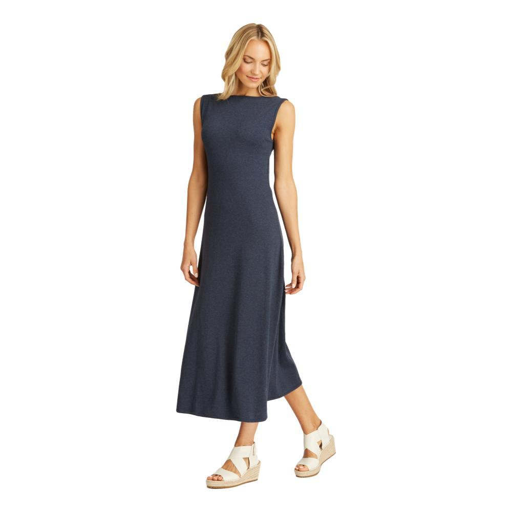 Indigenous Designs Boatneck Maxi Dress NAVY