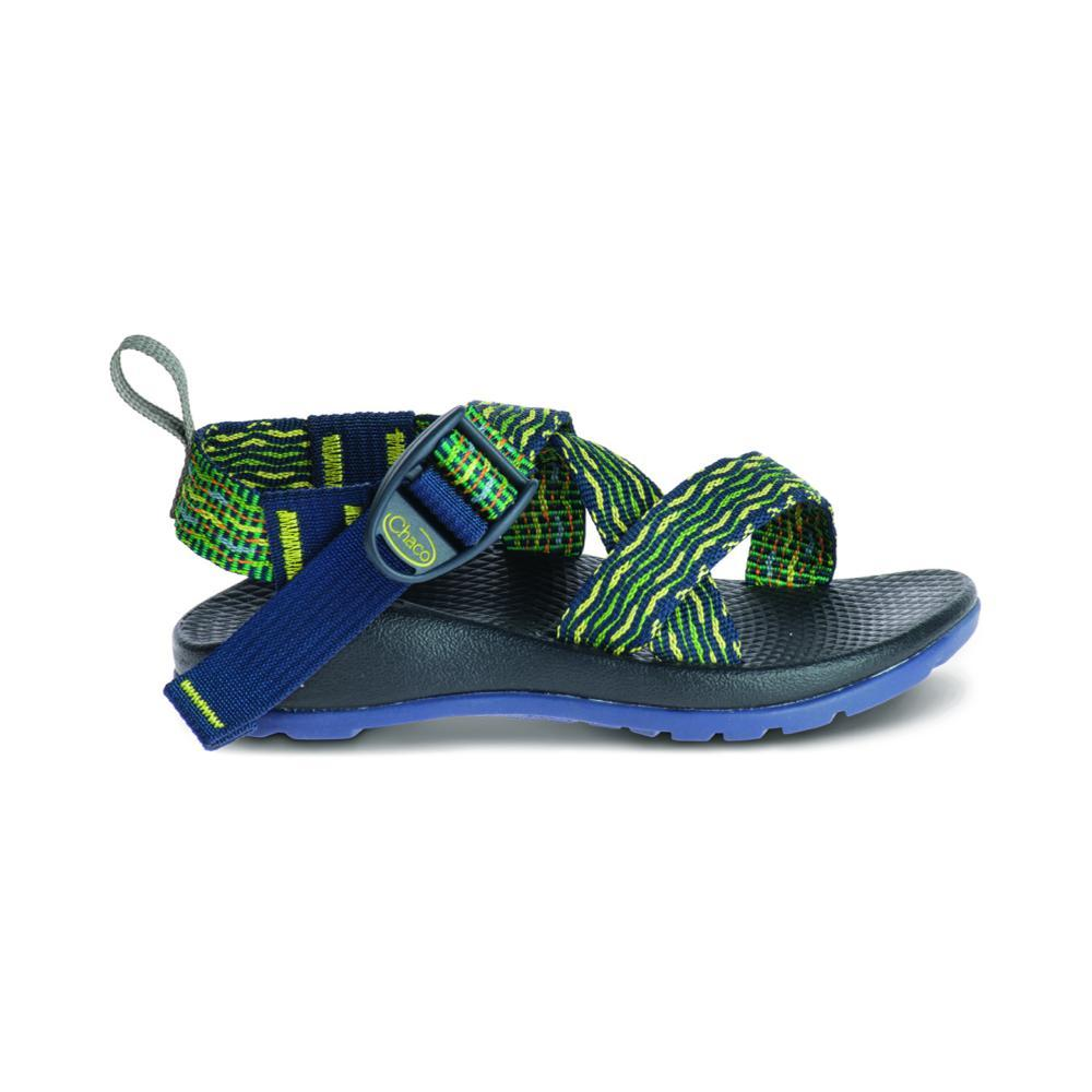 Chaco Kids Z/1 EcoTread Sandals RIOGREEN