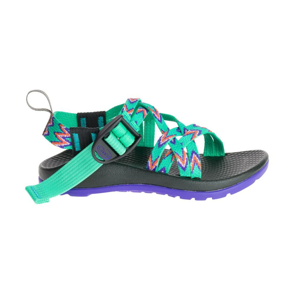 Chaco Kids ZX/1 EcoTread Sandals MINTLEAF