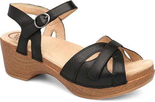 Dansko Women's Season Sandals BLACK