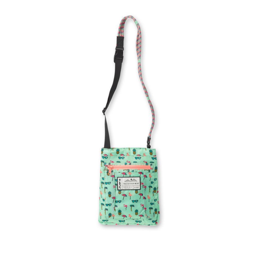 KAVU Keeperoo Cross Body Bag BEACHPARTY