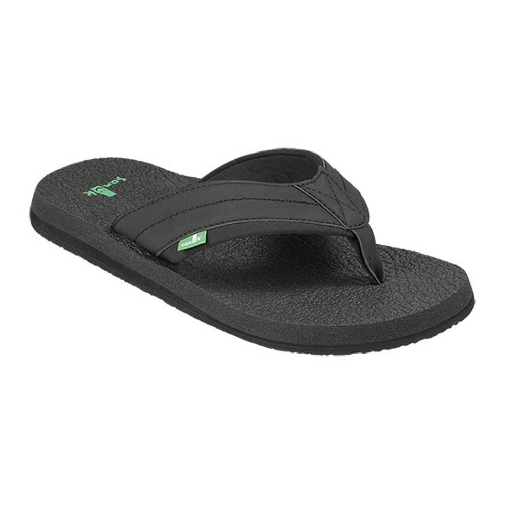 Sanuk Men's Beer Cozy 2 Flip Sandals BLACK