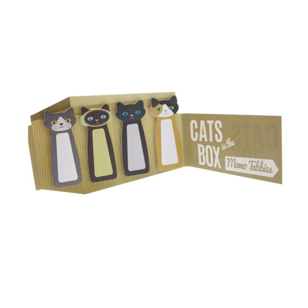 Streamline Cats In The Box Memo Tabbies