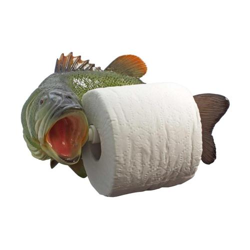 Streamline Large Mouth Bass Toilet Paper Holder .
