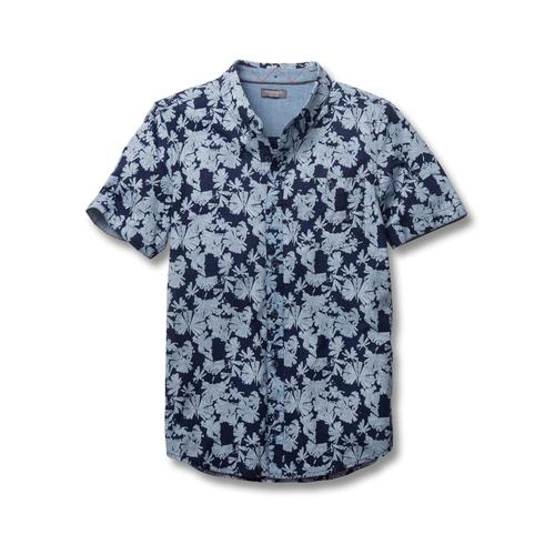 Toad&Co Men's Mattock Short Sleeve Shirt Indiflower