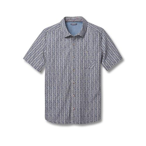 Toad&Co Men's Fletch Print Short Sleeve Shirt