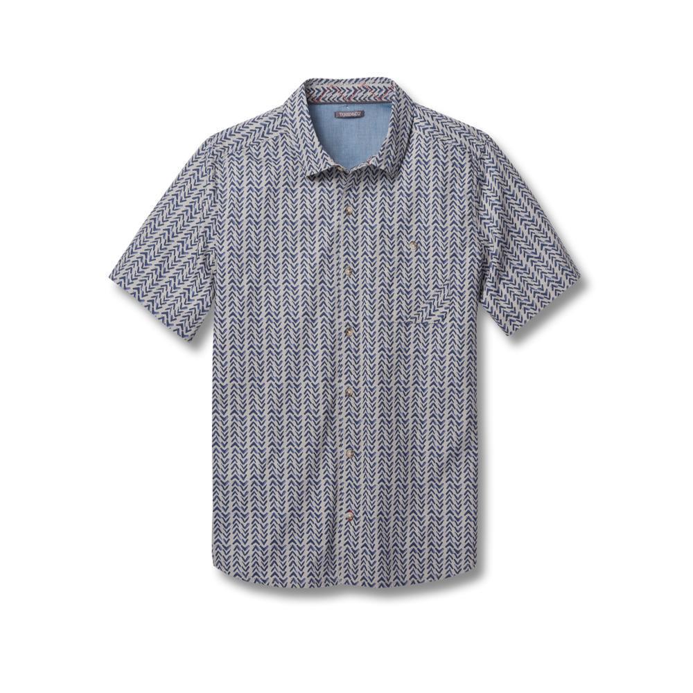 Toad&Co Men's Fletch Print Short Sleeve Shirt LTASHPT