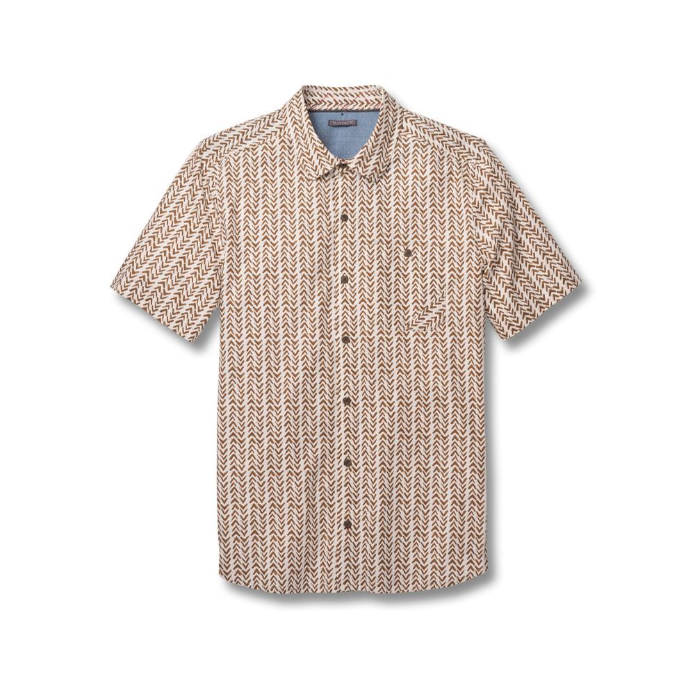 Toad&Co Men's Fletch Print Short Sleeve Shirt SALTPT