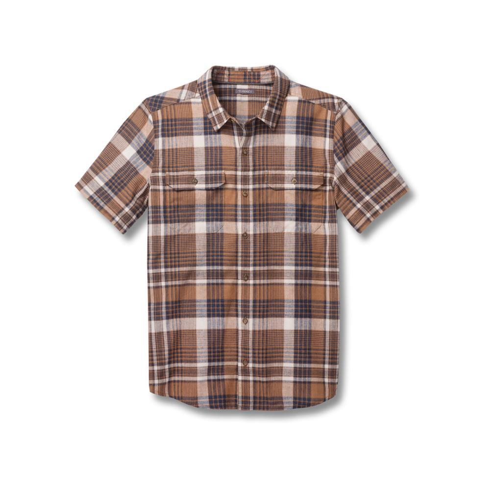 Toad&Co Men's Hookline Short Sleeve Shirt TABAC