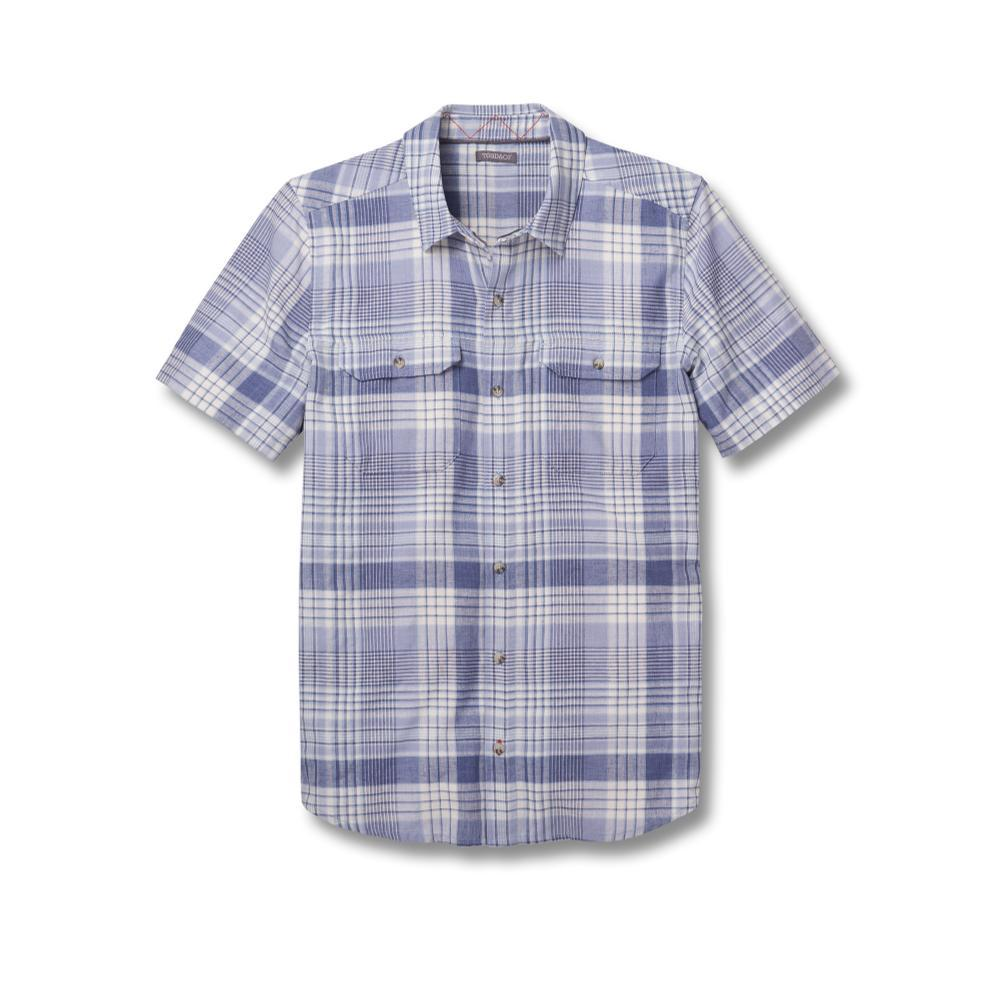 Toad&Co Men's Hookline Short Sleeve Shirt WTHRBLUE