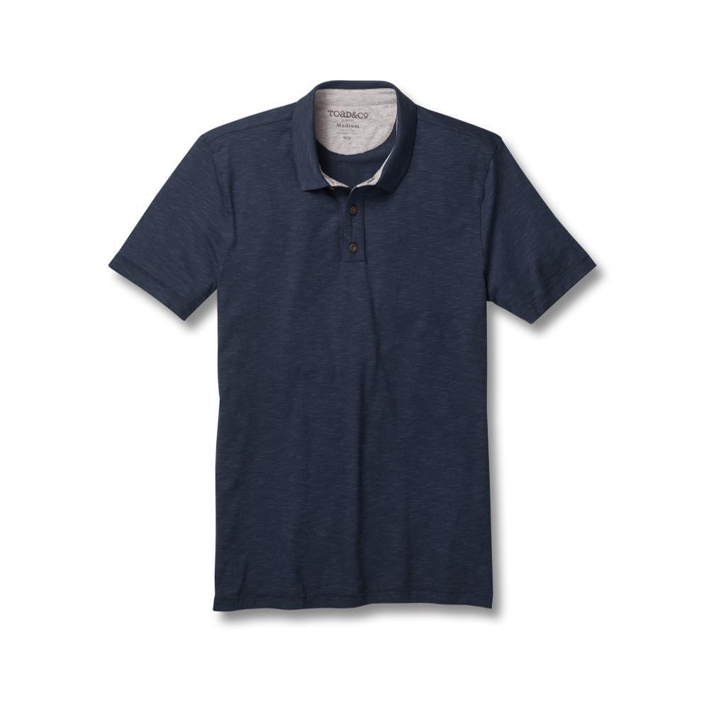 Toad&Co Men's Tempo Short Sleeve Slim Polo DPNAVY
