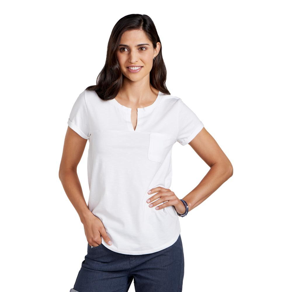 Toad&Co Women's Sambasta Short Sleeve Tee WHITE