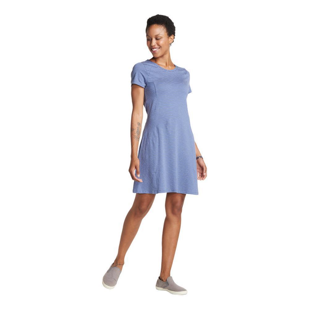 Toad&Co. Women's Windmere Short Sleeve Dress BLUEBERRY