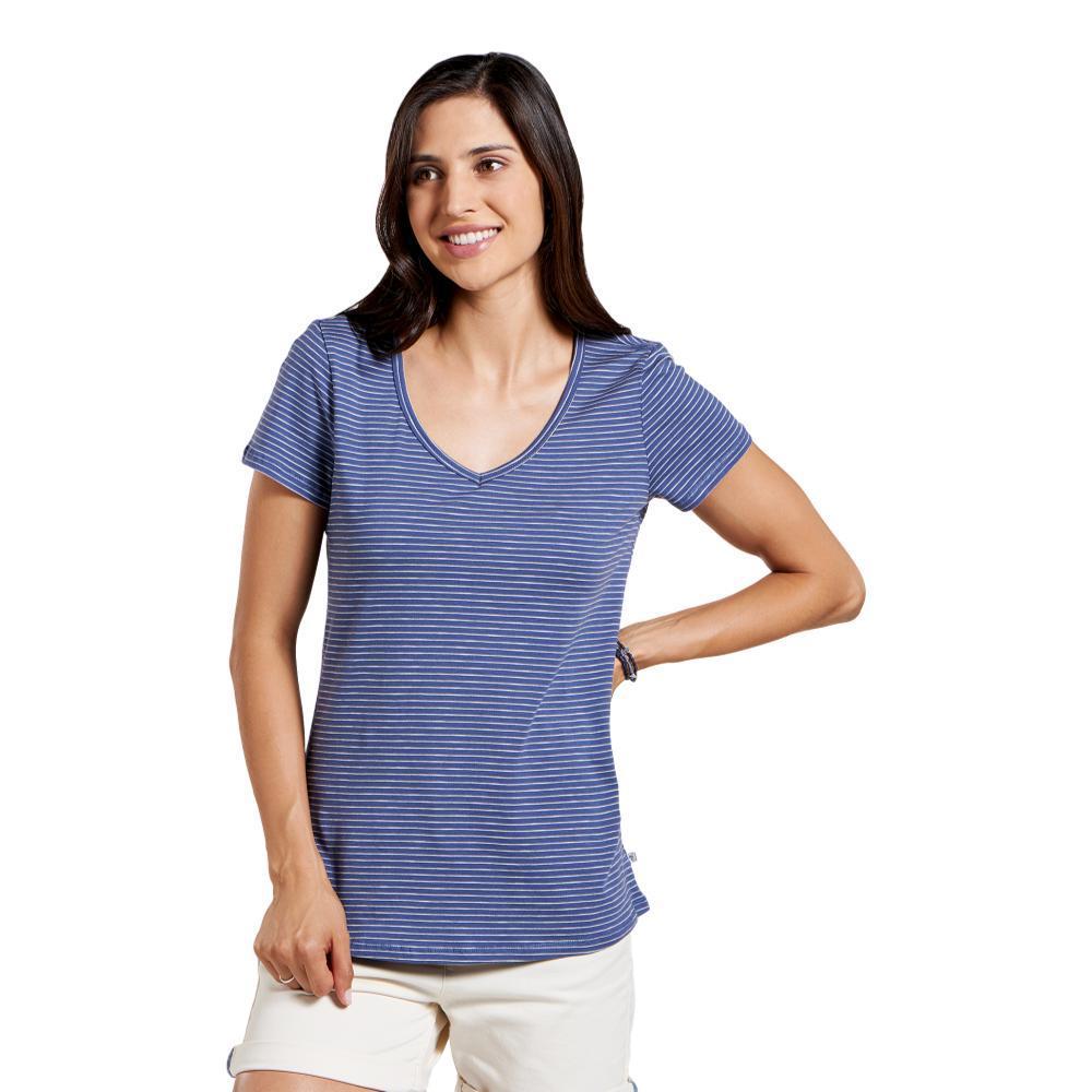 Toad&Co Women's Marley Short Sleeve Tee BLUEST