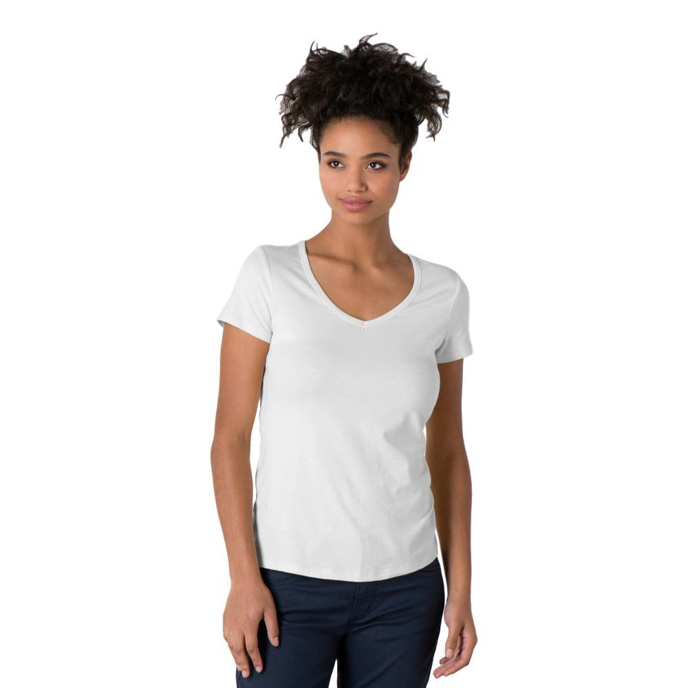 Toad&Co Women's Marley Short Sleeve Tee WHITE