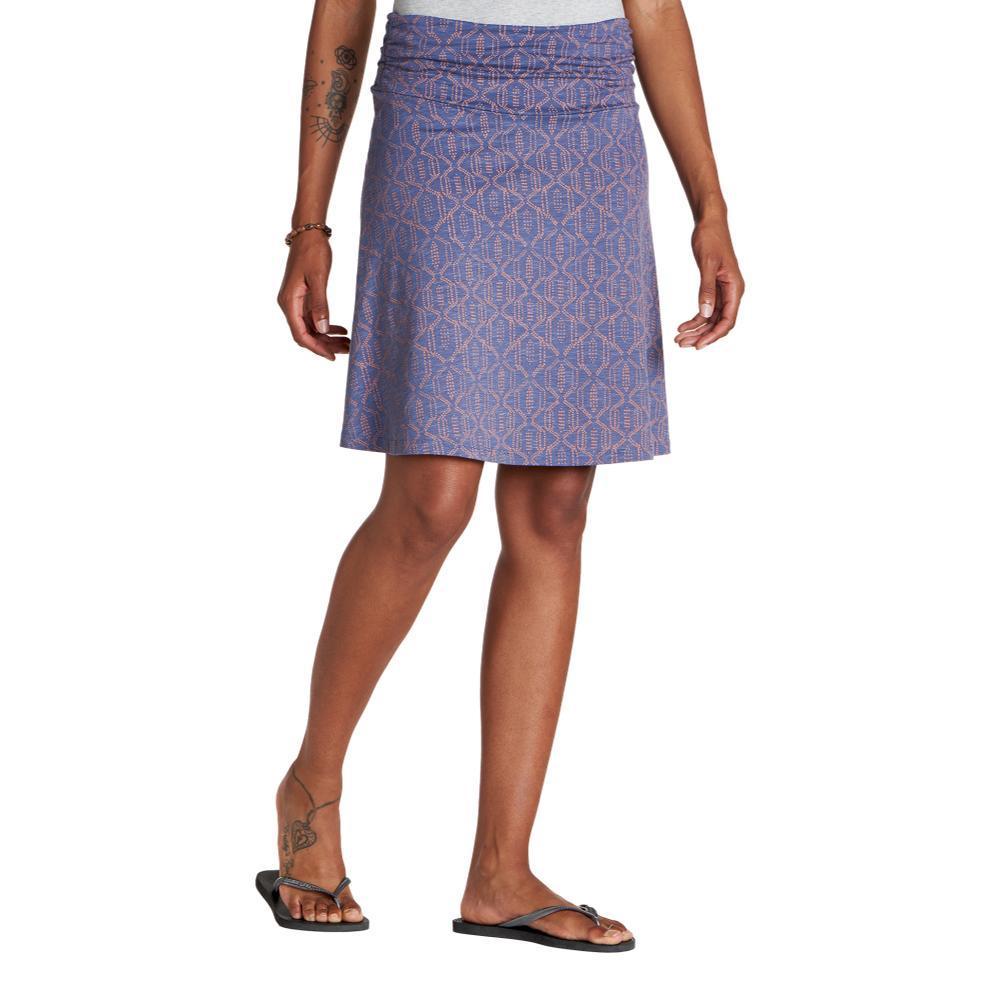 Toad&Co Women's Chaka Skirt BLUEPT