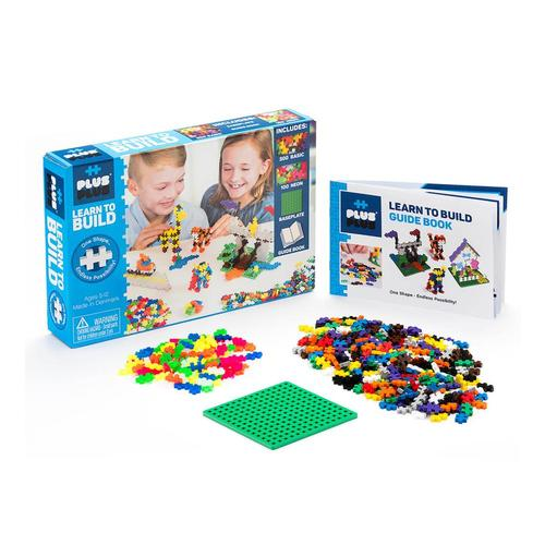 Plus-Plus Learn To Build Set - Basic .
