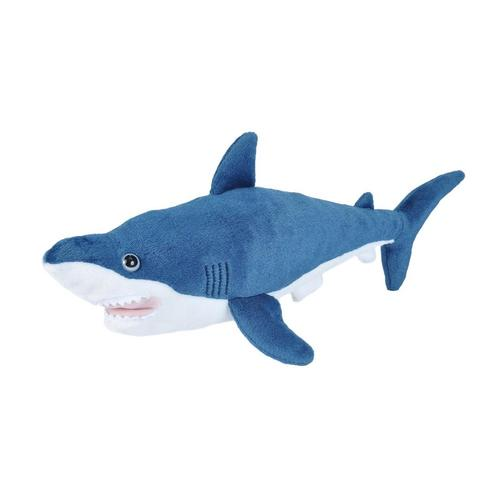 Wild Republic Cuddlekins 15in Mako Shark Stuffed Animal