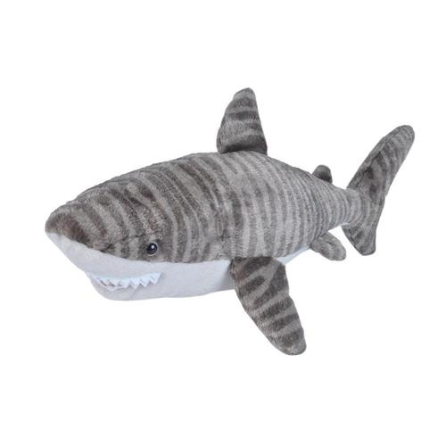 Wild Republic Cuddlekins 15in Tiger Shark Stuffed Animal