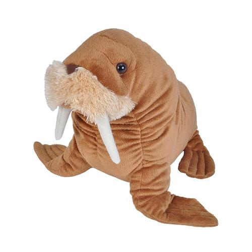 Wild Republic Cuddlekins 15in Walrus Stuffed Animal