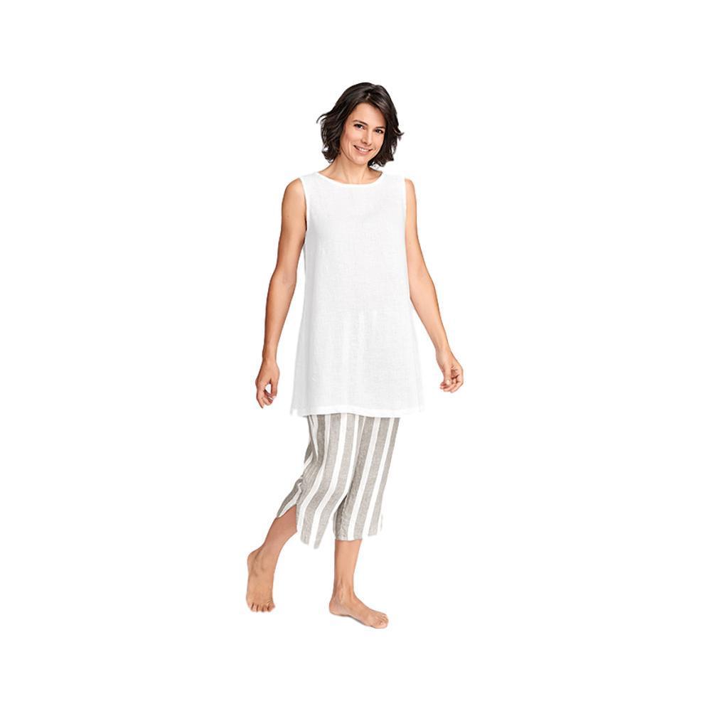 FLAX Women's Shirttail Crop Pants NATURALSTR