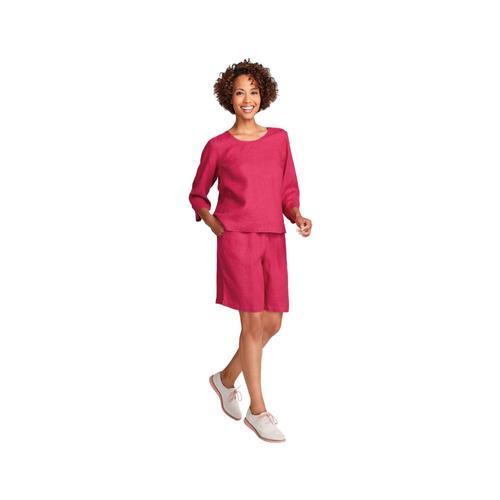 FLAX Women's Sun Shorts Fuchsia
