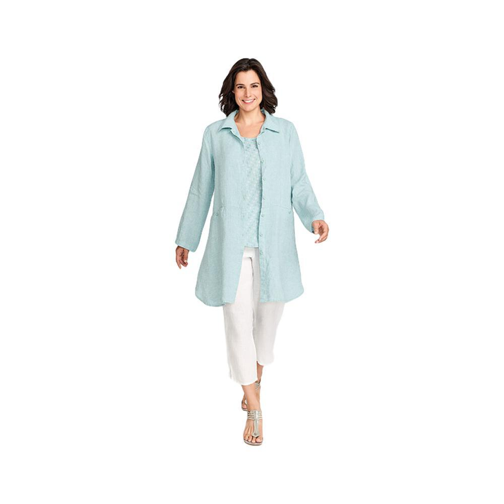 FLAX Women's Daily Duster SEAGLASS
