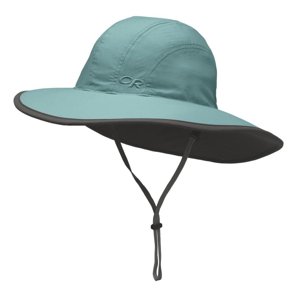 Outdoor Research Kids Rambler Sun Sombrero Hat SEAGLASS1299