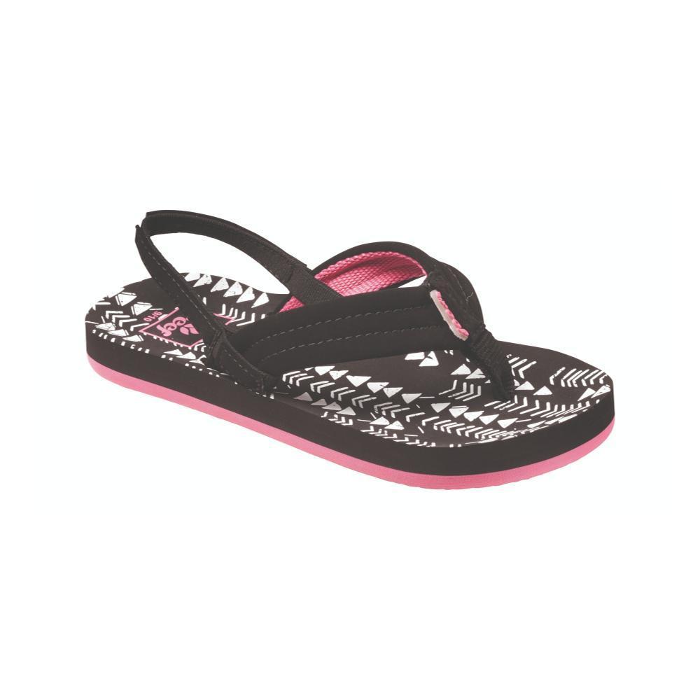 Reef Girls Little Ahi Sandals BLKTRIB_BTI