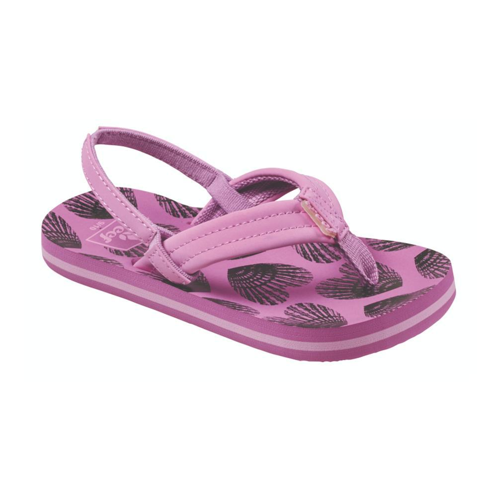 Reef Girls Little Ahi Sandals HRTSHELL_HES