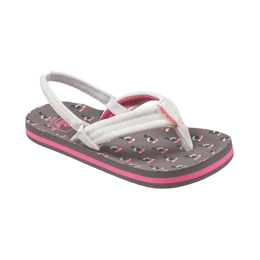 Reef Girls Little Ahi Sandals TOUCAN_TCN