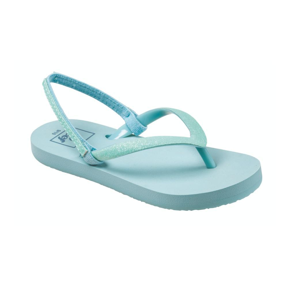 Reef Girls Little Stargazer Sandals TEAL_TEA