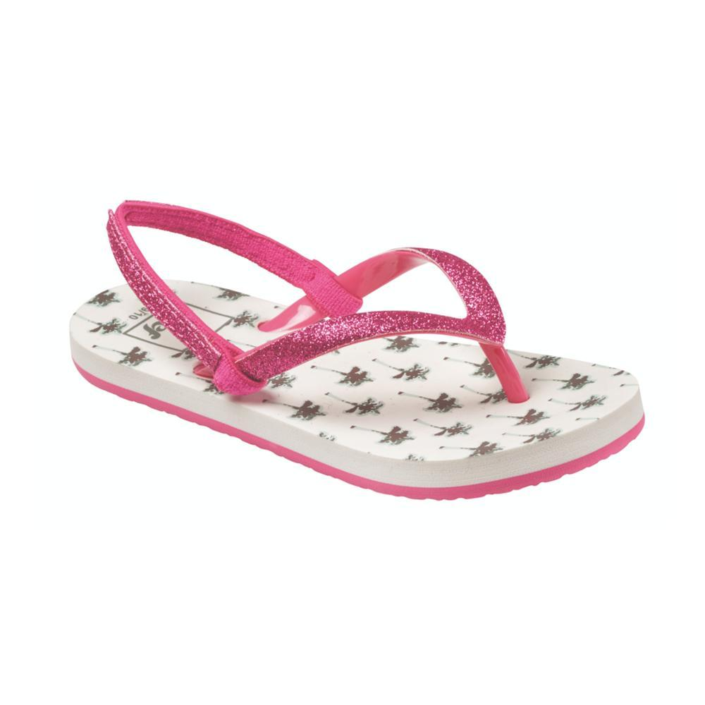 Reef Girls Little Stargazer Prints Sandals PALMTRS_PTR