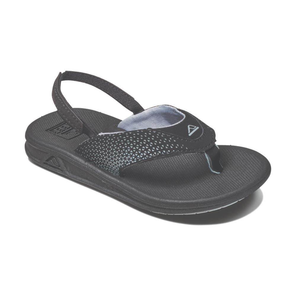 Reef Boys Grom Rover Sandals BLACK_BLA