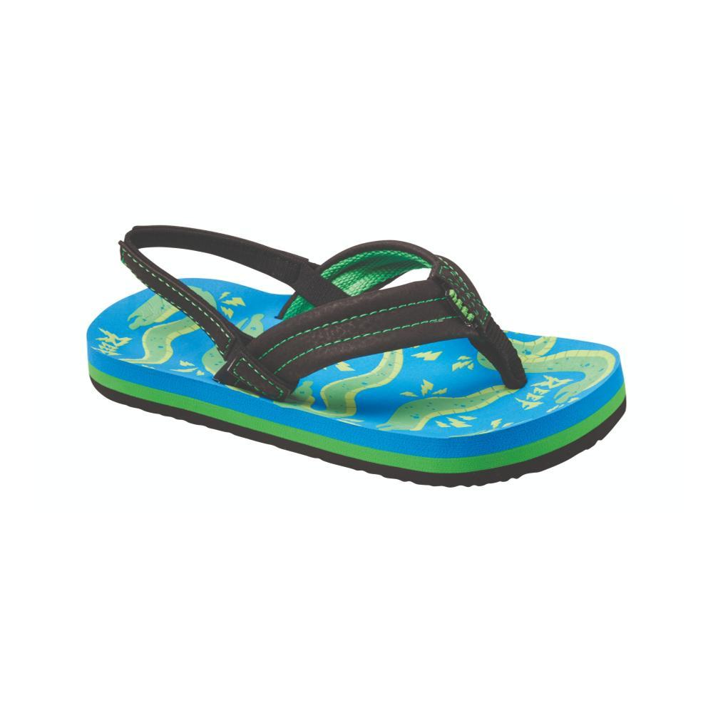 Reef Boys Ahi Glow Sandals BLUEEL_UEE