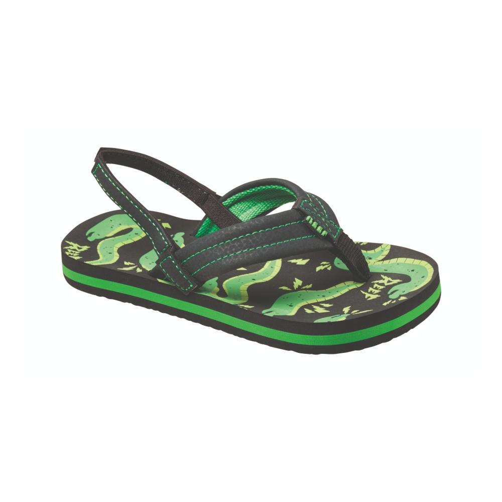 Reef Boys Ahi Glow Sandals GREYEEL_GEE