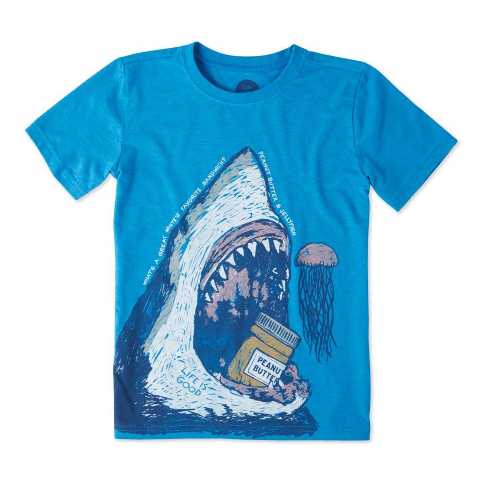 Life is Good Kids Peanut Butter Jellyfish Cool Tee MARINBLU