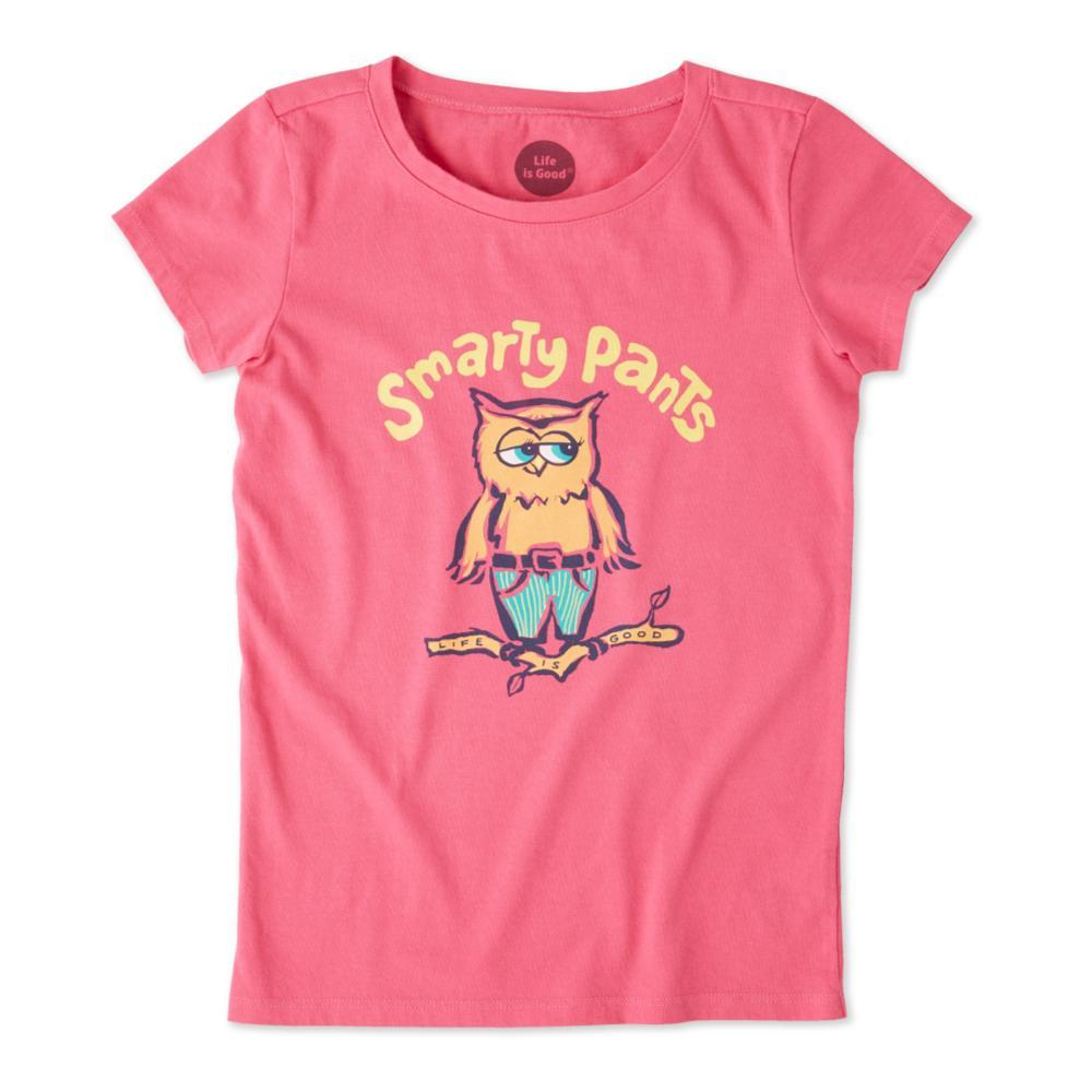 Life is Good Girls Smarty Pants Crusher Tee FIESTAPNK