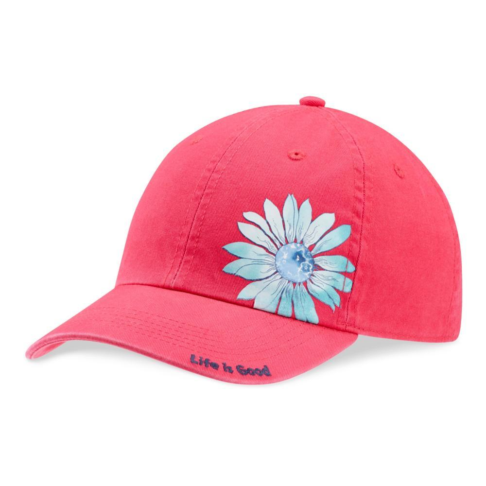 Life is Good Kids Print Pattern Flower Chill Cap POPPINK