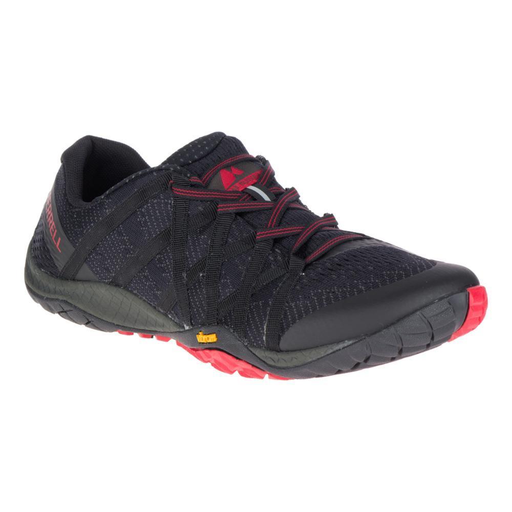 Merrell Men's Trail Glove 4 E-Mesh Running Shoes BLACK