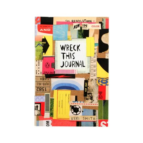 Wreck This Journal: Now In Color By Keri Smith .