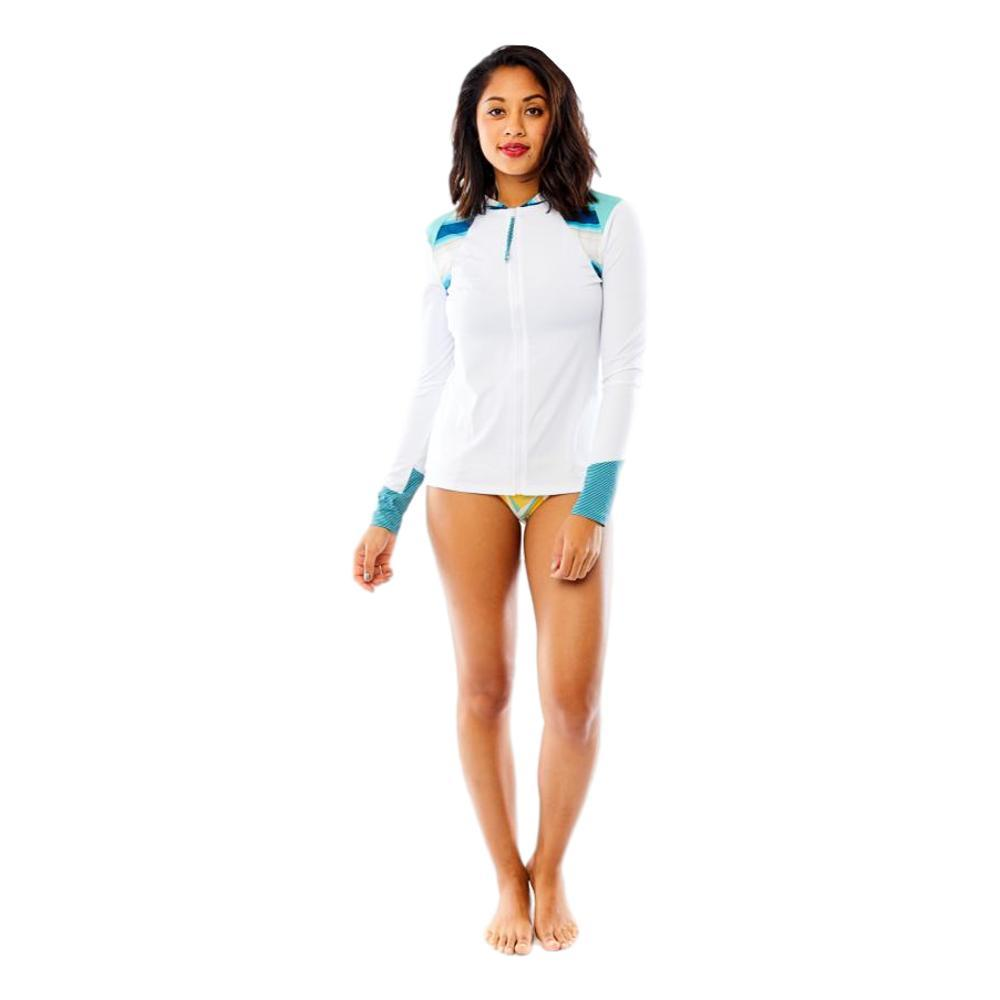 Carve Designs Women's Molly Hooded Sunshirt WHITE